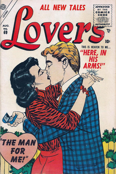 Cover for Lovers (Marvel, 1949 series) #69