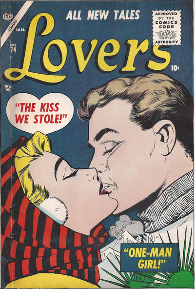 Cover for Lovers (Marvel, 1949 series) #74