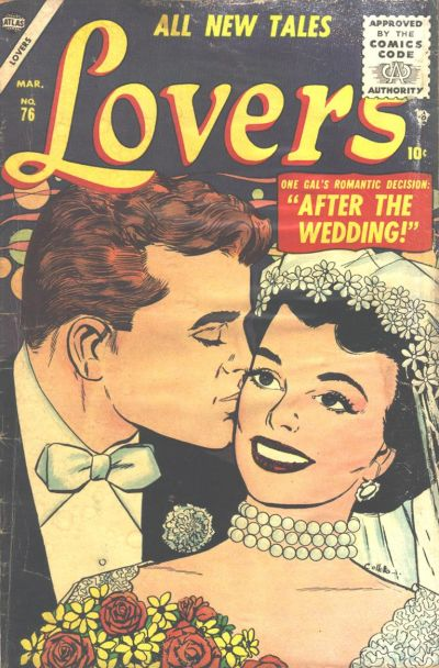 Cover for Lovers (Marvel, 1949 series) #76
