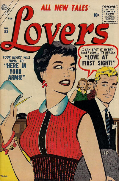 Cover for Lovers (Marvel, 1949 series) #83