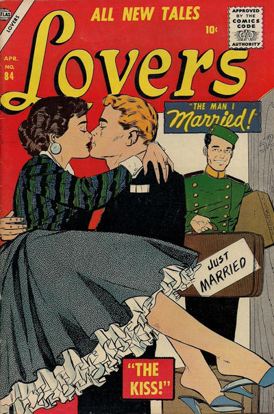 Cover for Lovers (Marvel, 1949 series) #84
