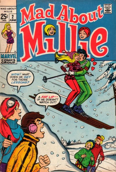 Cover for Mad About Millie (Marvel, 1969 series) #2
