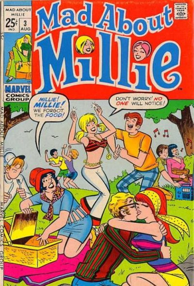 Cover for Mad About Millie (Marvel, 1969 series) #3