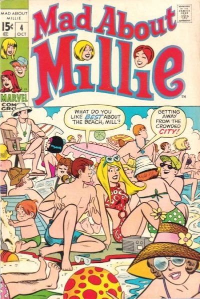 Cover for Mad About Millie (Marvel, 1969 series) #4