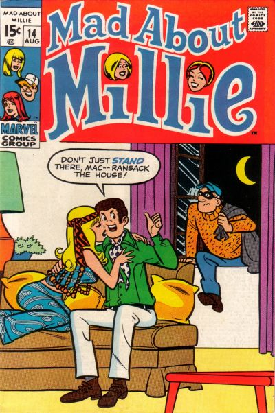 Cover for Mad About Millie (Marvel, 1969 series) #14