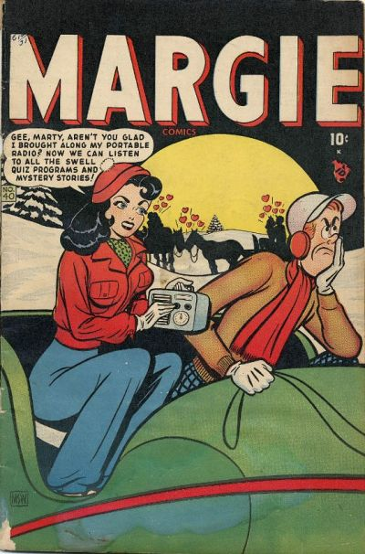 Cover for Margie Comics (Marvel, 1946 series) #40