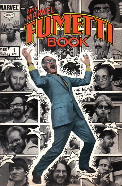 Cover for Marvel Fumetti Book (Marvel, 1984 series) #1