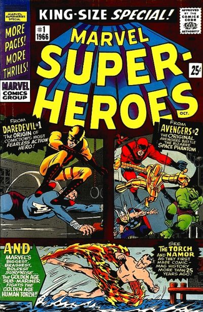 Cover for Marvel Super Heroes (Marvel, 1966 series) #1