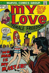 Cover for My Love (Marvel, 1969 series) #25