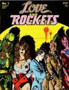 Cover for Love and Rockets (Fantagraphics, 1982 series) #1 [Third Printing]