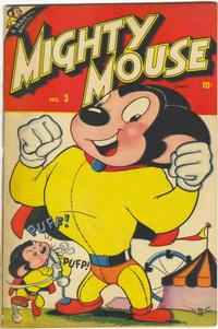 Cover Thumbnail for Mighty Mouse (Marvel, 1946 series) #3