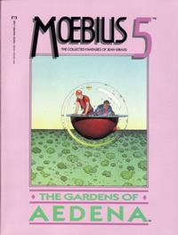 Cover Thumbnail for Moebius (Marvel, 1987 series) #5 - The Gardens of Aedena
