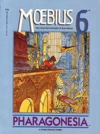 Cover Thumbnail for Moebius (Marvel, 1987 series) #6 - Pharagonesia & Other Strange Stories