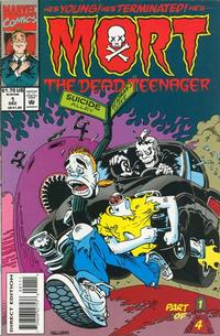 Cover Thumbnail for Mort the Dead Teenager (Marvel, 1993 series) #1