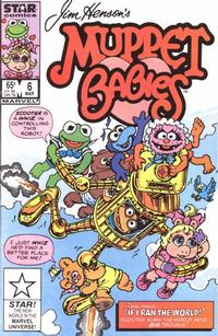 Cover Thumbnail for Muppet Babies (Marvel, 1985 series) #6 [Direct]