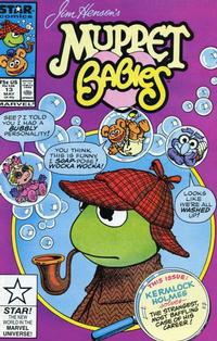 Cover Thumbnail for Muppet Babies (Marvel, 1985 series) #13