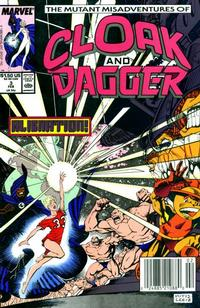 Cover Thumbnail for The Mutant Misadventures of Cloak and Dagger (Marvel, 1988 series) #3