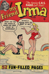 Cover Thumbnail for My Friend Irma (Marvel, 1950 series) #5