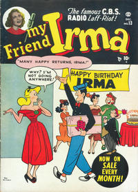 Cover Thumbnail for My Friend Irma (Marvel, 1950 series) #13