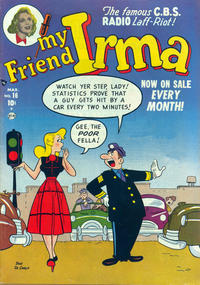 Cover Thumbnail for My Friend Irma (Marvel, 1950 series) #16