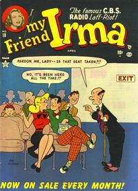 Cover Thumbnail for My Friend Irma (Marvel, 1950 series) #18