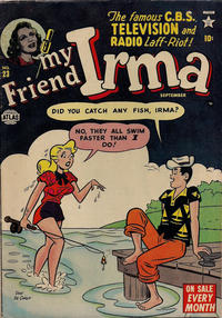 Cover Thumbnail for My Friend Irma (Marvel, 1950 series) #23