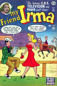 Cover Thumbnail for My Friend Irma (Marvel, 1950 series) #25