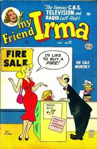 Cover Thumbnail for My Friend Irma (Marvel, 1950 series) #27