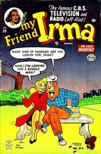 Cover Thumbnail for My Friend Irma (Marvel, 1950 series) #29