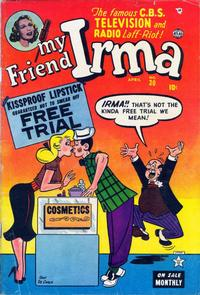 Cover Thumbnail for My Friend Irma (Marvel, 1950 series) #30