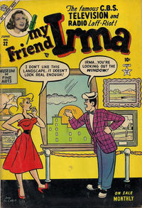 Cover Thumbnail for My Friend Irma (Marvel, 1950 series) #32