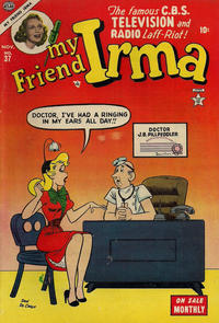 Cover Thumbnail for My Friend Irma (Marvel, 1950 series) #37