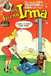 Cover for My Friend Irma (Marvel, 1950 series) #41