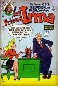Cover Thumbnail for My Friend Irma (Marvel, 1950 series) #42