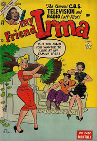 Cover Thumbnail for My Friend Irma (Marvel, 1950 series) #44