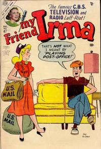 Cover for My Friend Irma (Marvel, 1950 series) #47