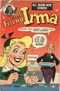 Cover Thumbnail for My Friend Irma (Marvel, 1950 series) #48