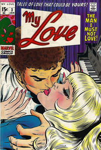 Cover Thumbnail for My Love (Marvel, 1969 series) #3