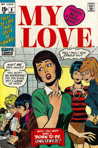 Cover Thumbnail for My Love (Marvel, 1969 series) #8