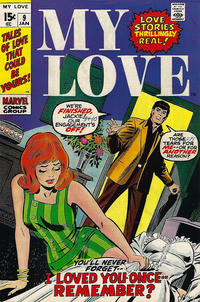 Cover Thumbnail for My Love (Marvel, 1969 series) #9