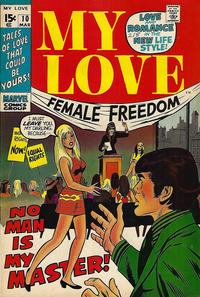 Cover Thumbnail for My Love (Marvel, 1969 series) #10