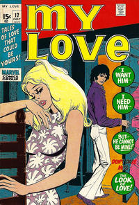 Cover Thumbnail for My Love (Marvel, 1969 series) #12