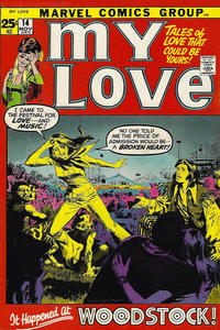 Cover Thumbnail for My Love (Marvel, 1969 series) #14