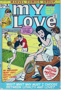 Cover Thumbnail for My Love (Marvel, 1969 series) #16