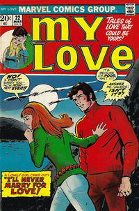 Cover Thumbnail for My Love (Marvel, 1969 series) #22