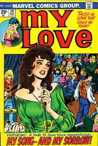 Cover Thumbnail for My Love (Marvel, 1969 series) #28