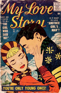 Cover Thumbnail for My Love Story (Marvel, 1956 series) #8