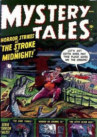 Cover Thumbnail for Mystery Tales (Marvel, 1952 series) #1