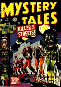 Cover Thumbnail for Mystery Tales (Marvel, 1952 series) #8