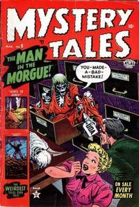 Cover Thumbnail for Mystery Tales (Marvel, 1952 series) #9